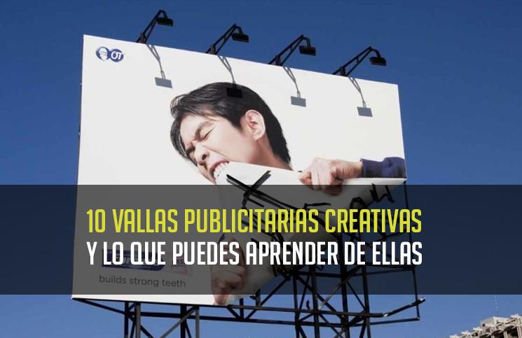10 Vallas Publicitarias Creativas Y Lo Que Puedes Aprender