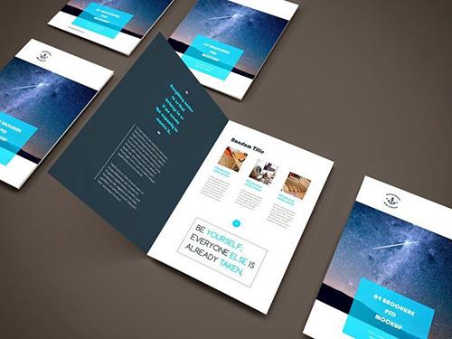 10 Brochure GRATIS en formato PSD listos para usar