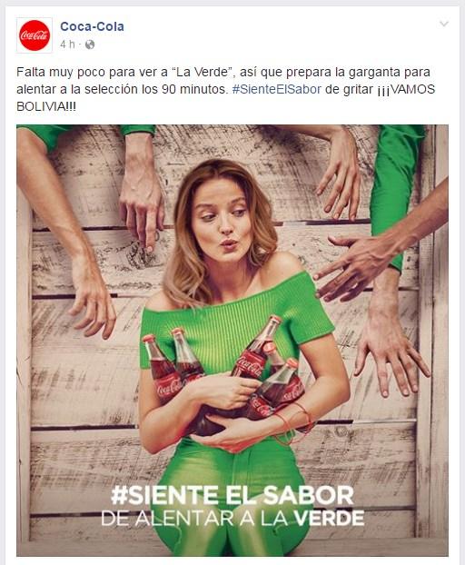 aumentar las interacciones en facebook mclanfranconi coca cola bolivia