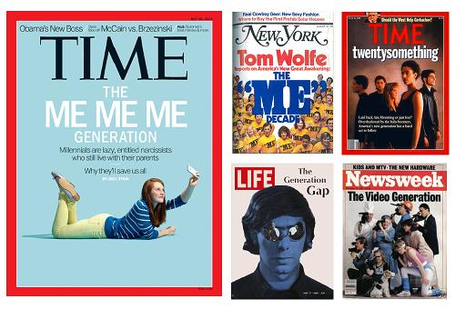 los millennials me generation