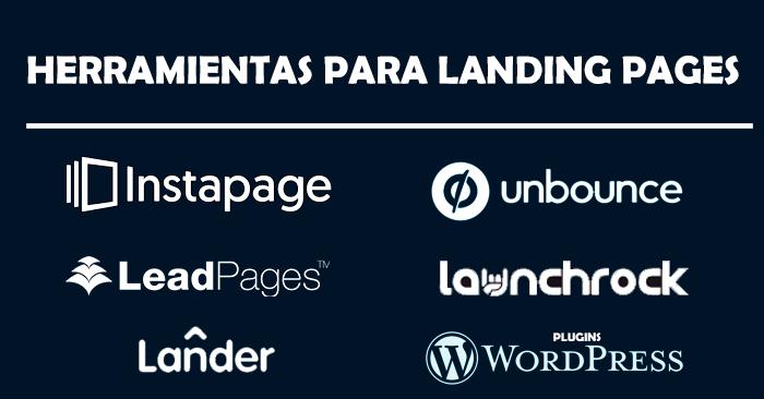 Herramientas crear landing page