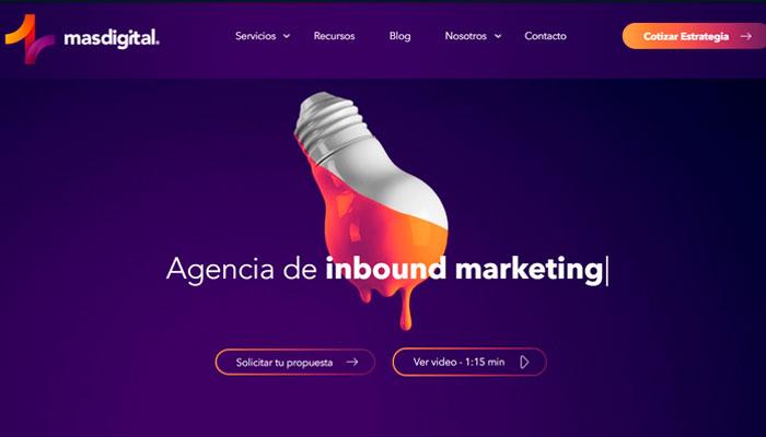 10 - Agencias Inbound Marketing en Latinoamerica - MAS Digital