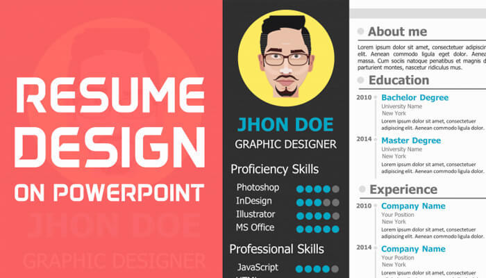 10 Free Resume Template in Powerpoint