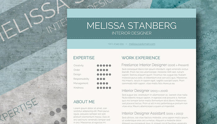 10 Stylish CV Template Word