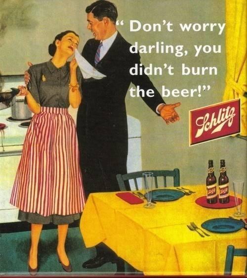 10 anuncios vintage que deberían pedirle perdon a las mujeres 1