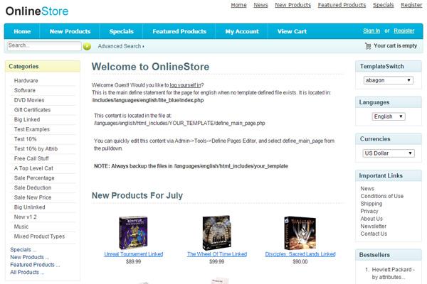 10-cms-open-source-para-crear-un-ecommerce-zencart