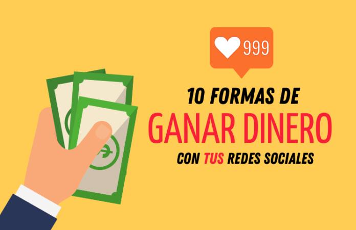 10 formas de ganar dinero con redes sociales