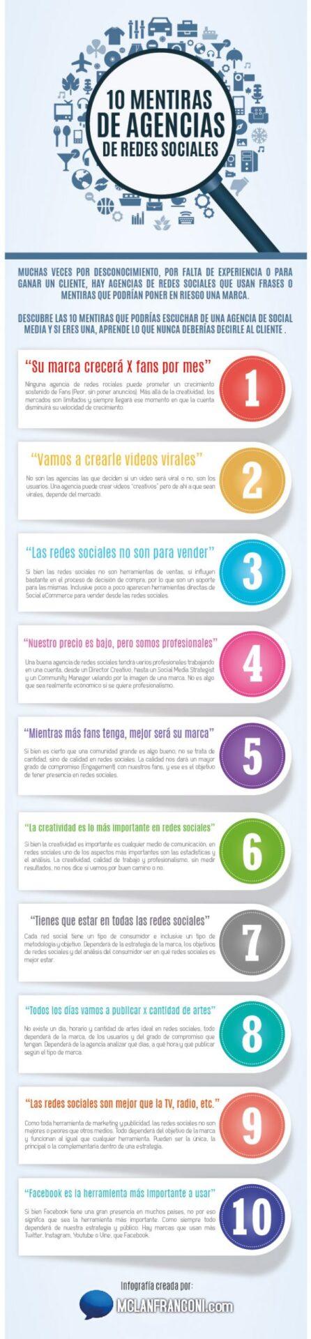 10 mentiras de agencias de redes sociales 3