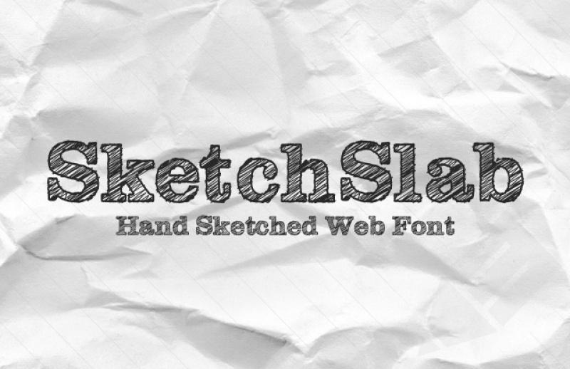 10 tipografias gratis manuscritas SketchSlab