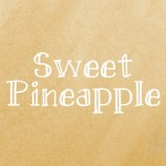 10 tipografias gratis manuscritas Sweet Pineapple