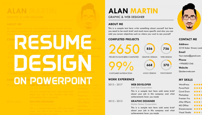 11 Free Creative Resume Template Powerpoint