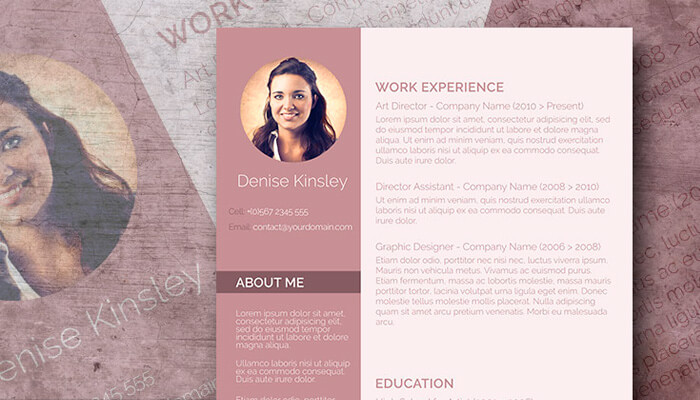 11 Modern And Chic Resume Word