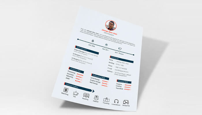 12 Free Resume Template - 3 Pages