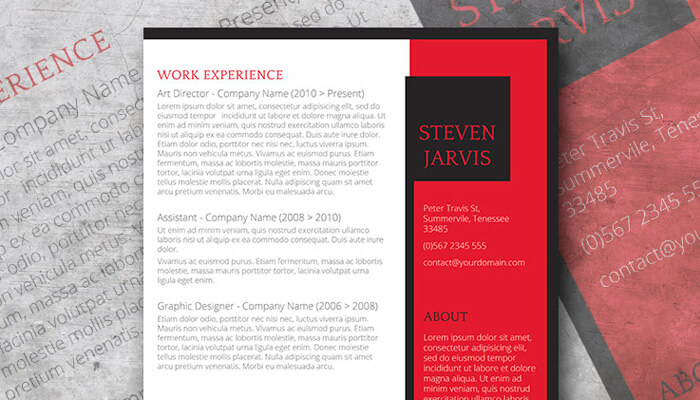 12 Unconventional CV Template Word