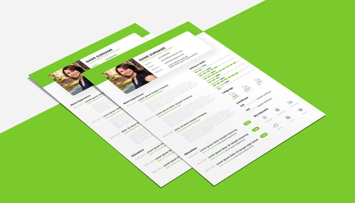 13 Free Beautiful Resume Powerpoint
