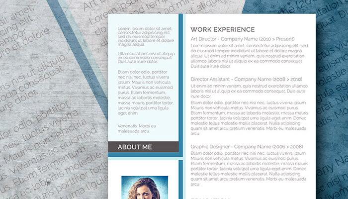 13 Free Modern CV Template Word