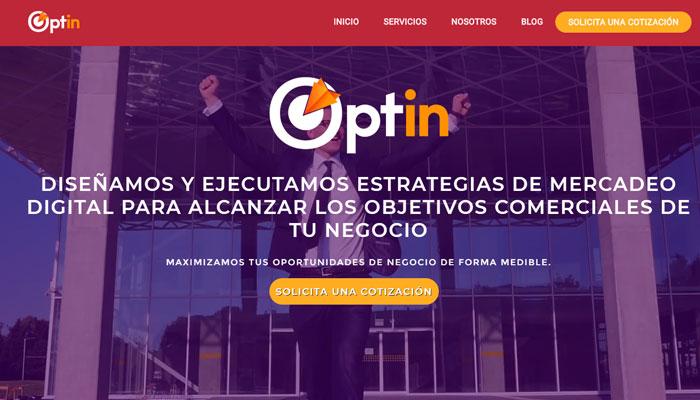 16 - Agencias Inbound Marketing en Latinoamerica - Optin