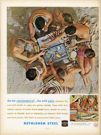 19 anuncios realesd de la era Mad Men Betjlehem