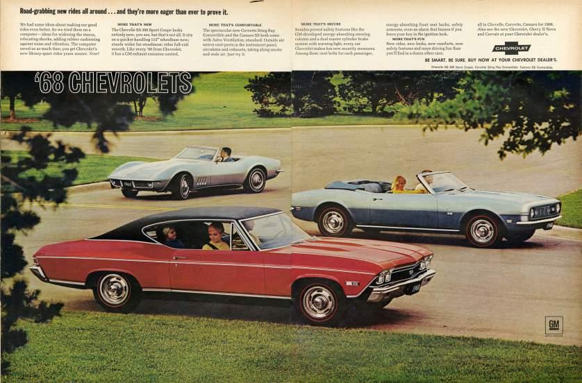 19 anuncios reales de la era Mad Men Chevrolet