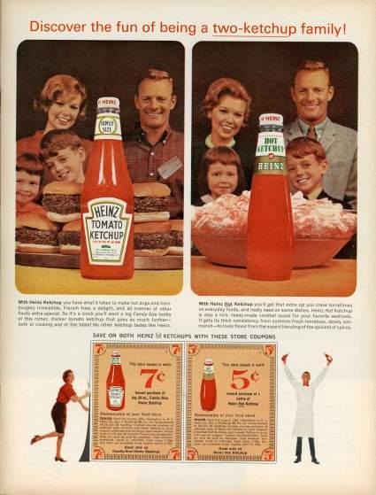 19 anuncios reales de la era Mad Men Heinz