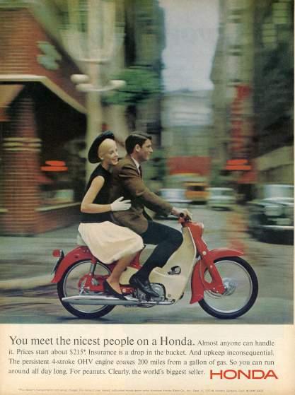 19 anuncios reales de la era Mad Men Honda
