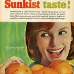 19 anuncios reales de la era Mad Men Sunkist