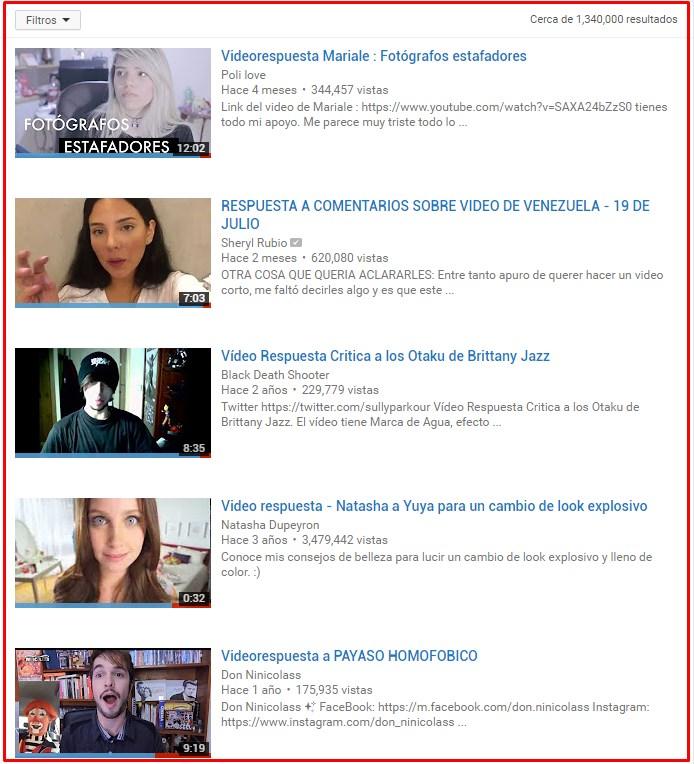 aumentar suscriptores en youtube videorespuesta