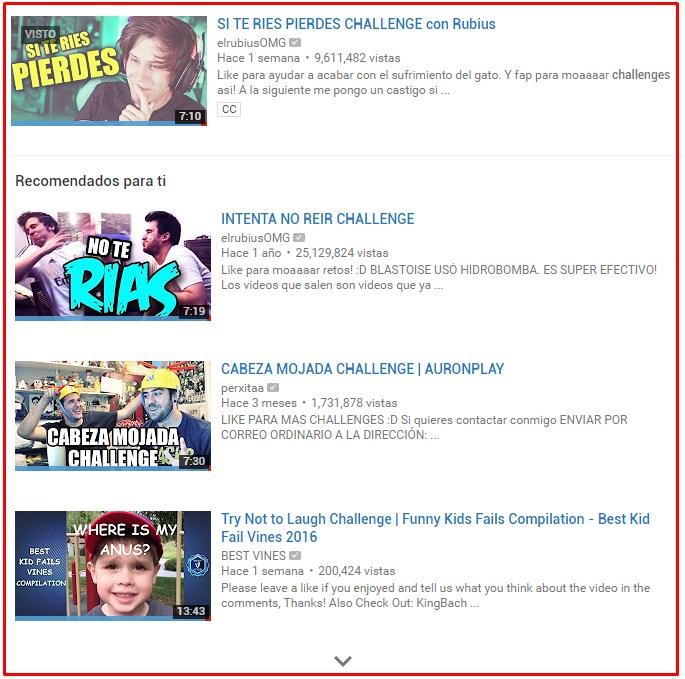 aumentar suscriptores en youtube challenge