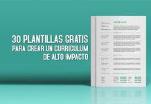 plantilla para curriculum gratis cv