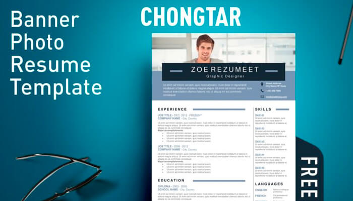 4 Chongtar Resume Template Word