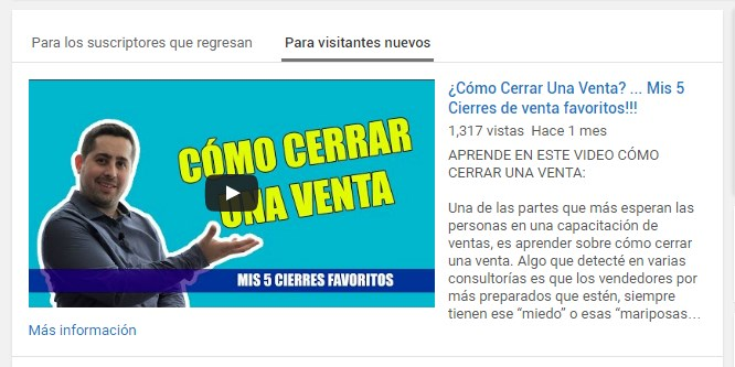 5aumentar suscriptores en youtube trailer