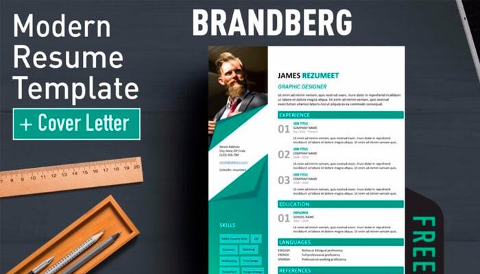 5 Brandberg Resume Template Word