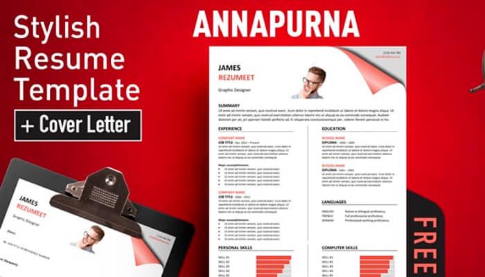 6 Annapurna Resume Template Word