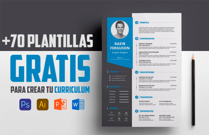 70 Plantillas Para Curriculum Gratis Varios Formatos