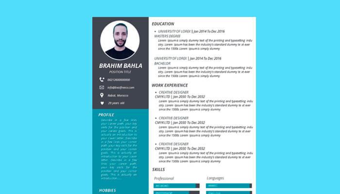 8 Impresive Resume Powerpoint