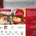 Seminario de comercios minorista retail boliva