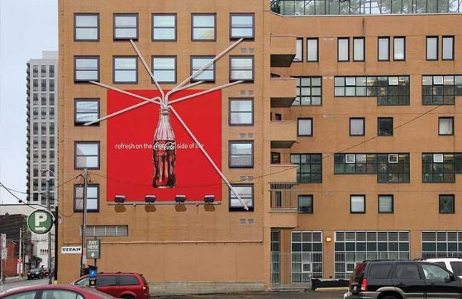 Acción-BTL-Coca-Cola-en-edificio