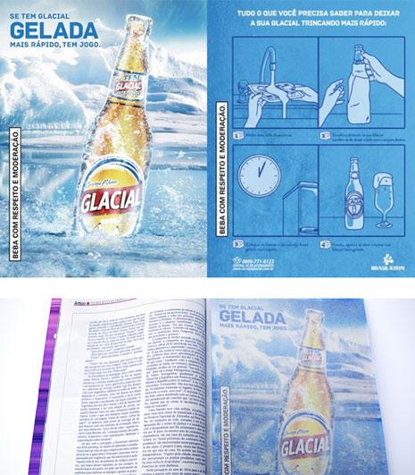Anuncio Interactivo Cerveza Glacial
