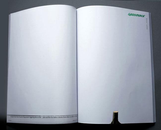 Anuncio dos paginas Greenpeace 2