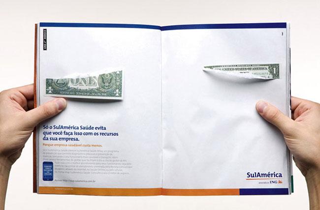 Anuncio dos paginas SulAmerica Healt Insurance 2