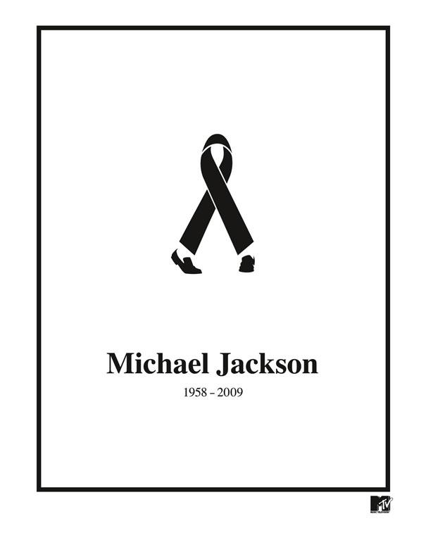 Anuncios minimalistas - Michael Jackson
