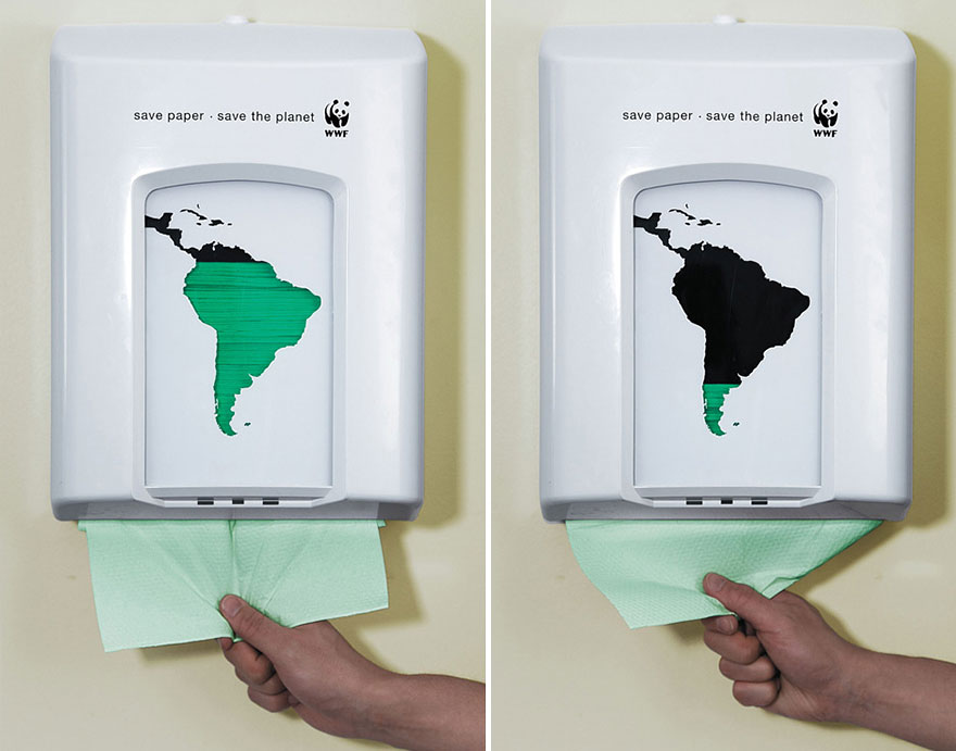 Anuncios sobre problemas sociales Greenpeace