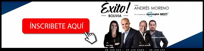 Banner exito emprendedores de bolivia