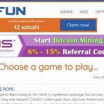 Bitfun como ganar un bitcoin