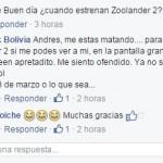 Cinemark Bolivia Mensaje DeadPool 2