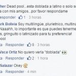 Cinemark Bolivia Mensaje DeadPool 3