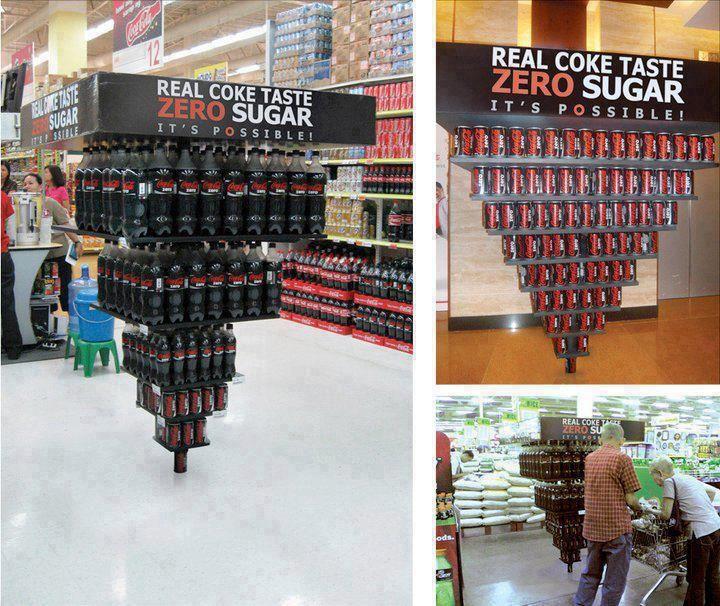 Coca cola Zero BTL