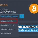 CoinPot depositar Bitcoins