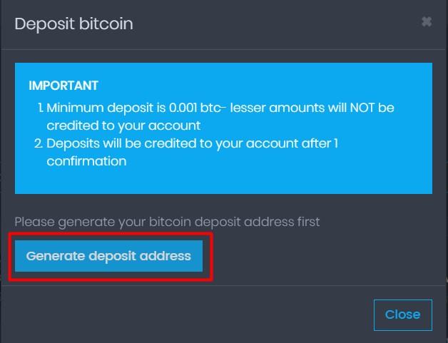 CoinPot generar billetera