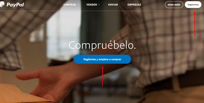 Crear cuenta de PayPal en Bolivia 1